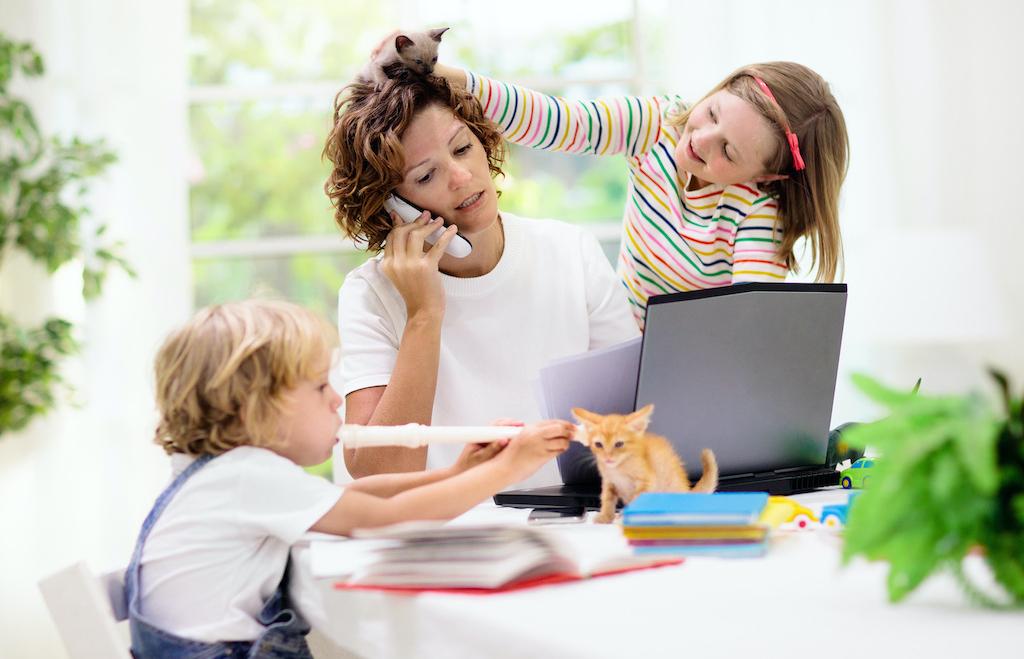 Ideias para adaptar a sua casa ao Home Office e ao Homeschooling