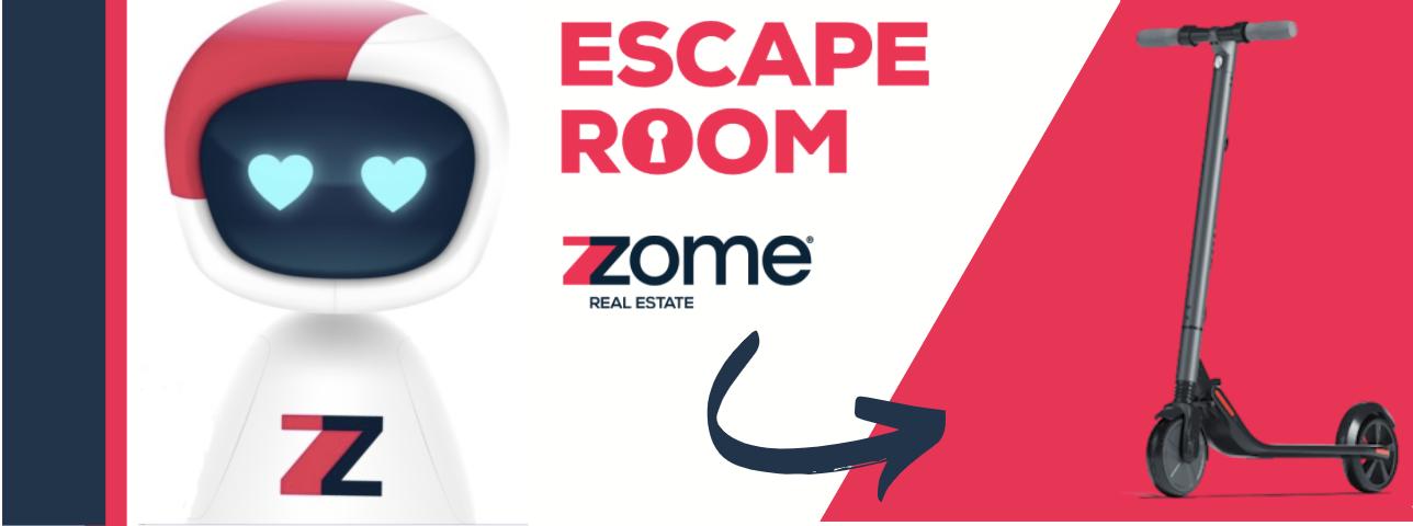 Escape Room da Zome: Divirta-se com a sua família e habilite-se a ganhar uma trotinete elétrica!